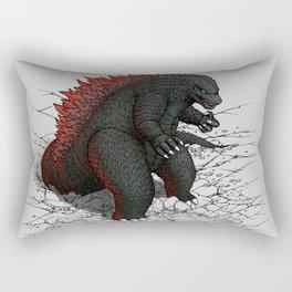 The Great Daikaiju Rectangular Pillow