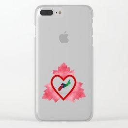 Atlantic Canada Clear iPhone Case