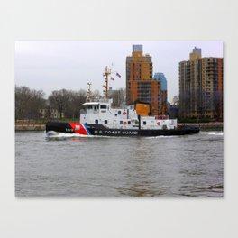 US Coast Guard 109, East River Canvas Print