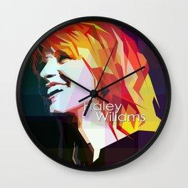Girl In Rock Wall Clock