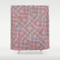 labyrinth Shower Curtains featuring Labyrinth by LoRo  Art & Pictures