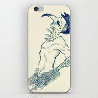 birdman iPhone & iPod Skins featuring Birdman by DogoD Art