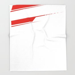 Corse Racing Gp Throw Blanket