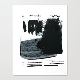 shape shift. navy 03 Canvas Print