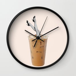 drowning Wall Clock