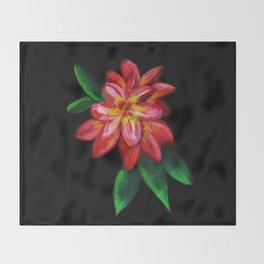 Wall Flowers Throw Blanket