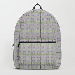 Spring Garden Violet Flowers Backpack