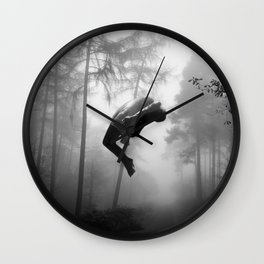 LEVITATION Wall Clock