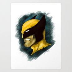 Wolverine Art Print