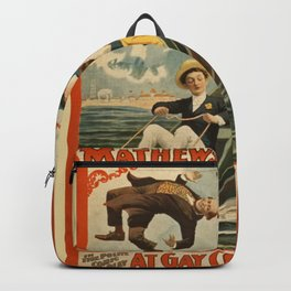 Vintage poster - Coney Island Backpack