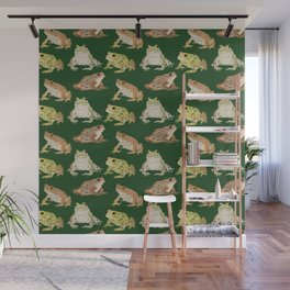 Toads Wall Mural