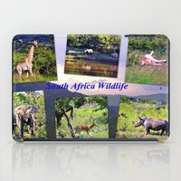 south africa iPad Cases featuring South Africa Wildlife by Art-Motiva