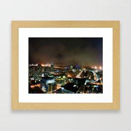 Foggy San Francisco Nights Framed Art Print