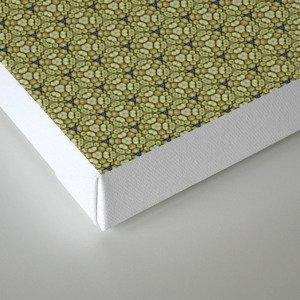 Yellow Apples Pattern Canvas Print