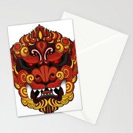 Dragon chino de la oscuridad Stationery Cards