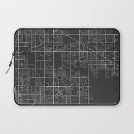 Surrey Map, Canada - Gray Laptop Sleeve