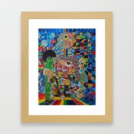 El Chaman Chavin Framed Art Print