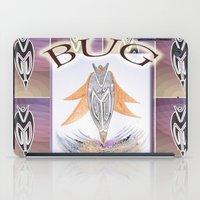 bug iPad Cases featuring BUG by CrismanArt