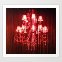Red light Art Print