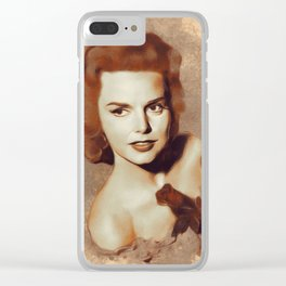 Barbara Lang, Movie Legend Clear iPhone Case