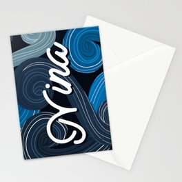 Name Plates - Nina Stationery Cards