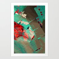 geo Art Prints featuring Geo by Zephyr