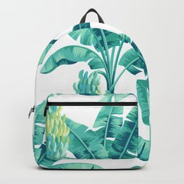 Banana leaf bloom Backpack