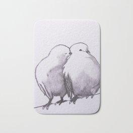 love birds Bath Mat