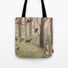 Breadcrumbs Tote Bag