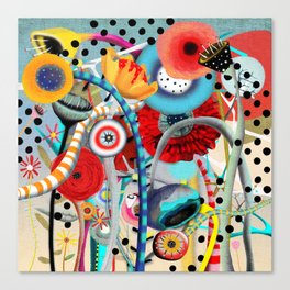 Colorful Happy Days  Canvas Print