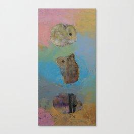 Hamsters Canvas Print