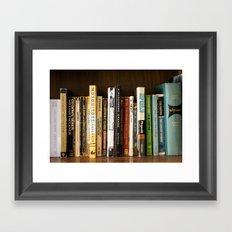 Lit.  Framed Art Print