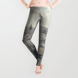 View of Paris from Notre Dame Leggings