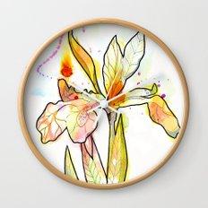 Queen Flower Wall Clock