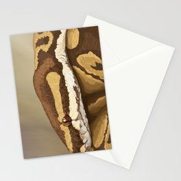 Ball Python (Odysseus) Stationery Cards