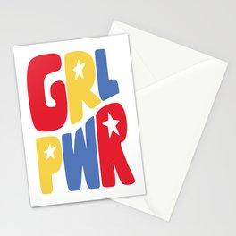 GRL PWR Star Stationery Cards