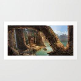 Magic explorer Art Print