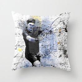 Game, Set, Match Throw Pillow