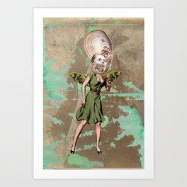 Sea fairy Art Print