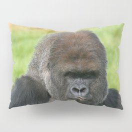 Gorilla Gaze Pillow Sham