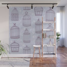 Birdcages Wall Mural