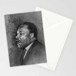 "Dr. King ""I've Been to the Mountaintop"" (April 3 1968) Stationery Cards"