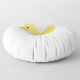 love ducks tee farmer duck fan rubber duck quack Floor Pillow
