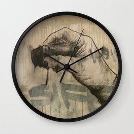 The Mop Wall Clock