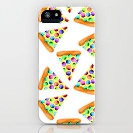 Rainbow Pizzas! iPhone Case