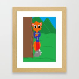 Tommy (Tiger) Ryder the Red Fox Framed Art Print