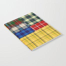 Crazy Plaid Notebook