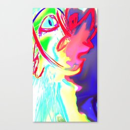 Rhino-More Canvas Print