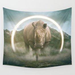 aegis | rhino Wall Tapestry
