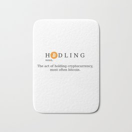 Bitcoin Hodling (BTC Hodl) Bath Mat